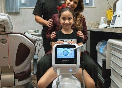 Tratamento à Laser com litetoch